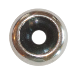 Silver Stopper Bead